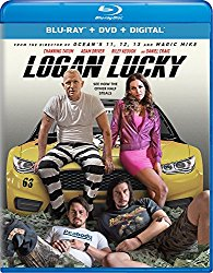 LOGAN LUCKY Blu-ray Cover