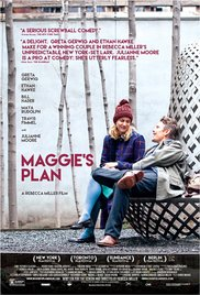 MAGGIE'S PLAN Release Poster