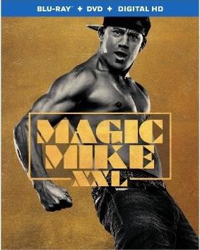 MAGIC MIKE XXL Blu-ray Cover