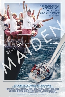 MAIDEN Release Poster