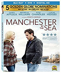 MANCHESTER BY THE SEA Blu-ray Cover