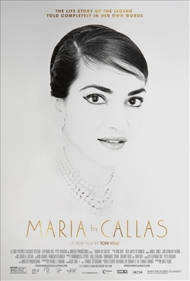 MARIA BY CALLAS    Release Poster
