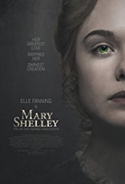 MARY SHELLEY  Release Poster