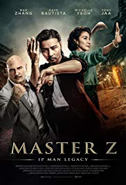 MASTER Z: IP MAN LEGACY Release Poster