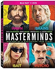 MASTERMINDS Release Poster