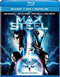 MAX STEEL Blu-ray Cover