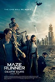 MAZE RUNNER: THE DEATH CURE Release Poster