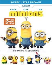 MINIONS Blu-ray Cover