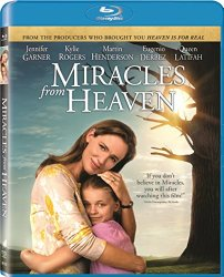 MIRACLES FROM HEAVEN Blu-ray Cover