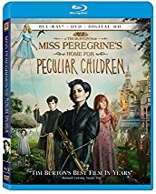MISS PEREGRINE'S HOME FOR PECULIAR CHILDREN Release Poster