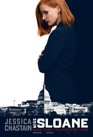 MISS SLOANE  Release Poster