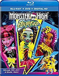 MONSTER HIGH ELECTRIFIED Blu-ray Cover