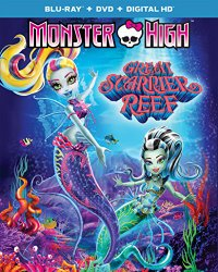 MONSTER HIGH SGREAT SCARRIER REEF Blu-ray Cover