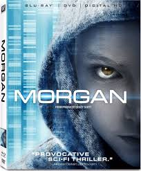 MORGAN Blu-ray Cover