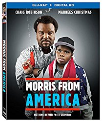 MORRIS FROM AMERICA Blu-ray Cover