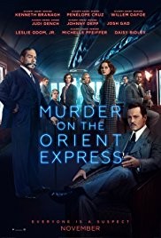 MURDER ON THE ORIENT EXPRESS Release Poster