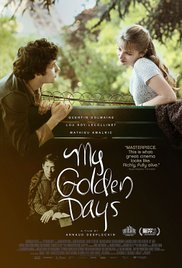 MY GOLDEN DAYS  Release Poster