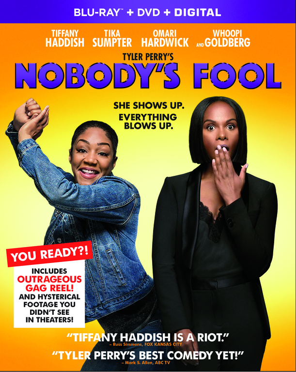 NOBODYS FOOL Blu-ray Cover