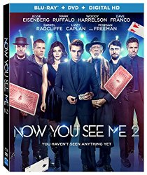 NOW YOU SEE ME 2 Blu-ray Cover
