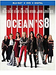 Ocean's 8 Blu-ray Cover