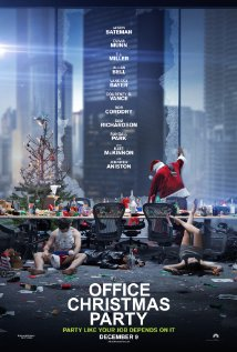 OFFICE CHRISTMAS PARTY Blu-ray Cover