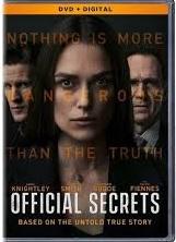 OFFICIAL SECRETS  Release Poster