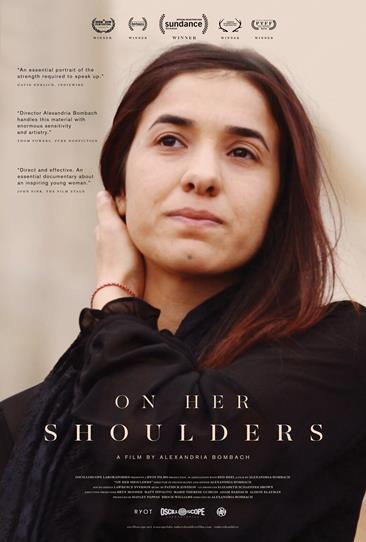 ON HER SHOULDERS Release Poster