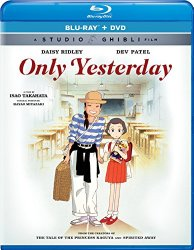 ONLY YESTERDAY Blu-ray Cover