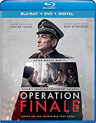 OPERATION FINALE Blu-ray Cover