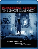 PARANORMAL ACTIVITY THE GHOST DIMENSION Blu-ray Cover