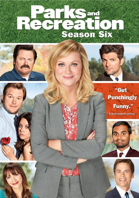 Parks and Recreation Season 6 Blu-ray