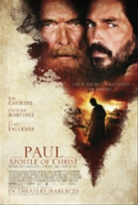 PAUL, APOSTLE OF CHRIST  Release Poster