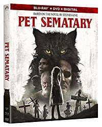 PET SEMATARY Blu-ray Cover