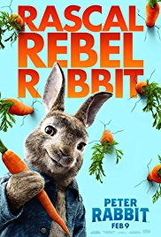 PETER RABBIT  Release Poster
