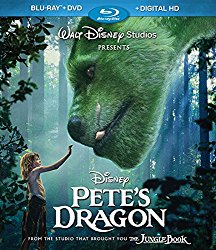 PETE'S DRAGON Blu-ray Cover
