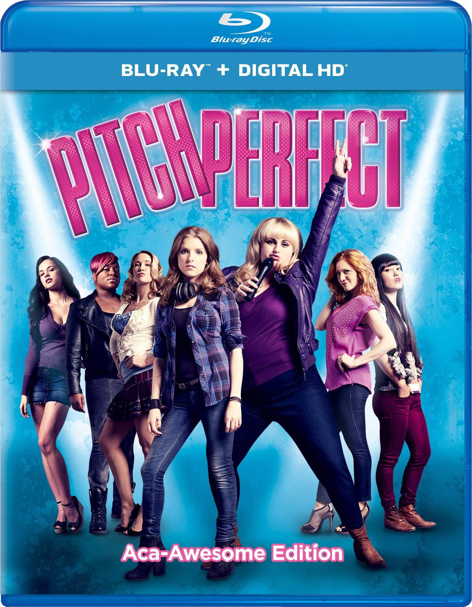 Pitch Perfect Aca Awesome Edition (Blu-ray + DVD + Digital HD UltraViolet Combo Pack With Bonus Blu-ray 3D)