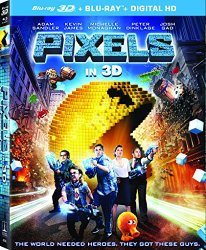PIXELS Blu-ray Cover