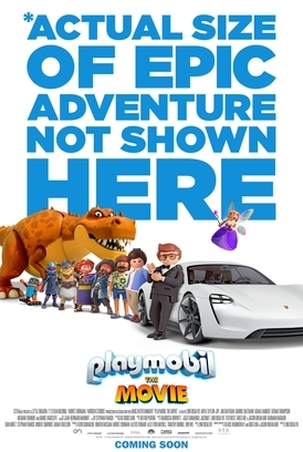PLAYMOBIL: THE MOVIE Release Poster