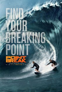 POINT BREAK Release Poster