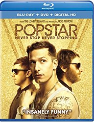 POPSTAR NEVER STOP NEVER STOPPING Blu-ray Cover