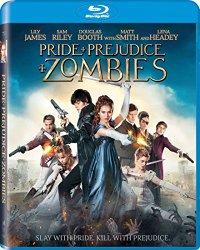 PRIDE + PREJUDICE + ZOMBIES Blu-ray Cover