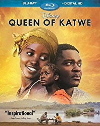 QUEEN OF KATWE Blu-ray Cover