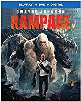 RAMPAGE Release Poster