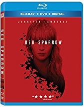 Red Sparrow Blu-ray Cover