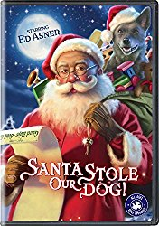 SANTA STOLE OUR DOG Blu-ray Cover