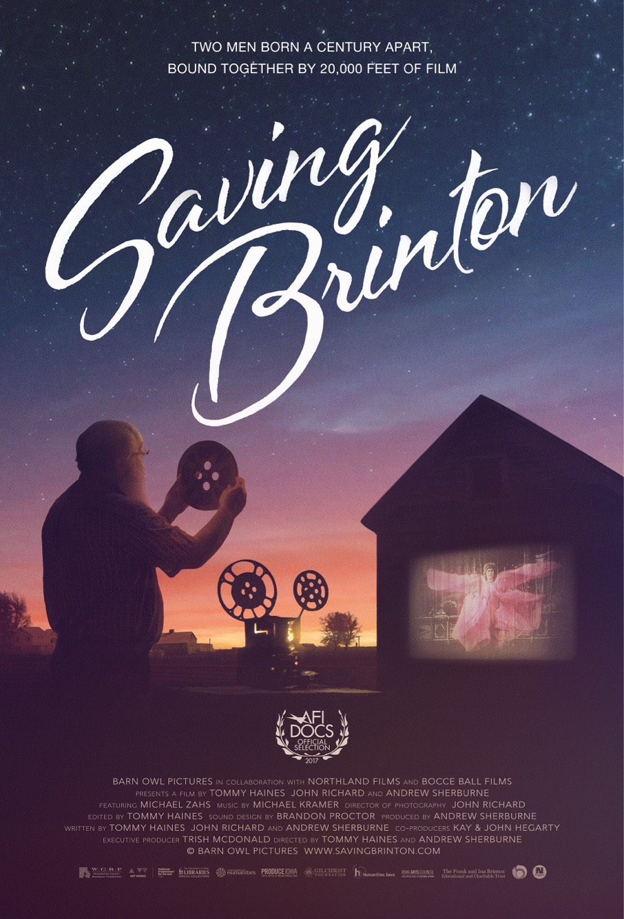 SAVING BRINTON Release Poster
