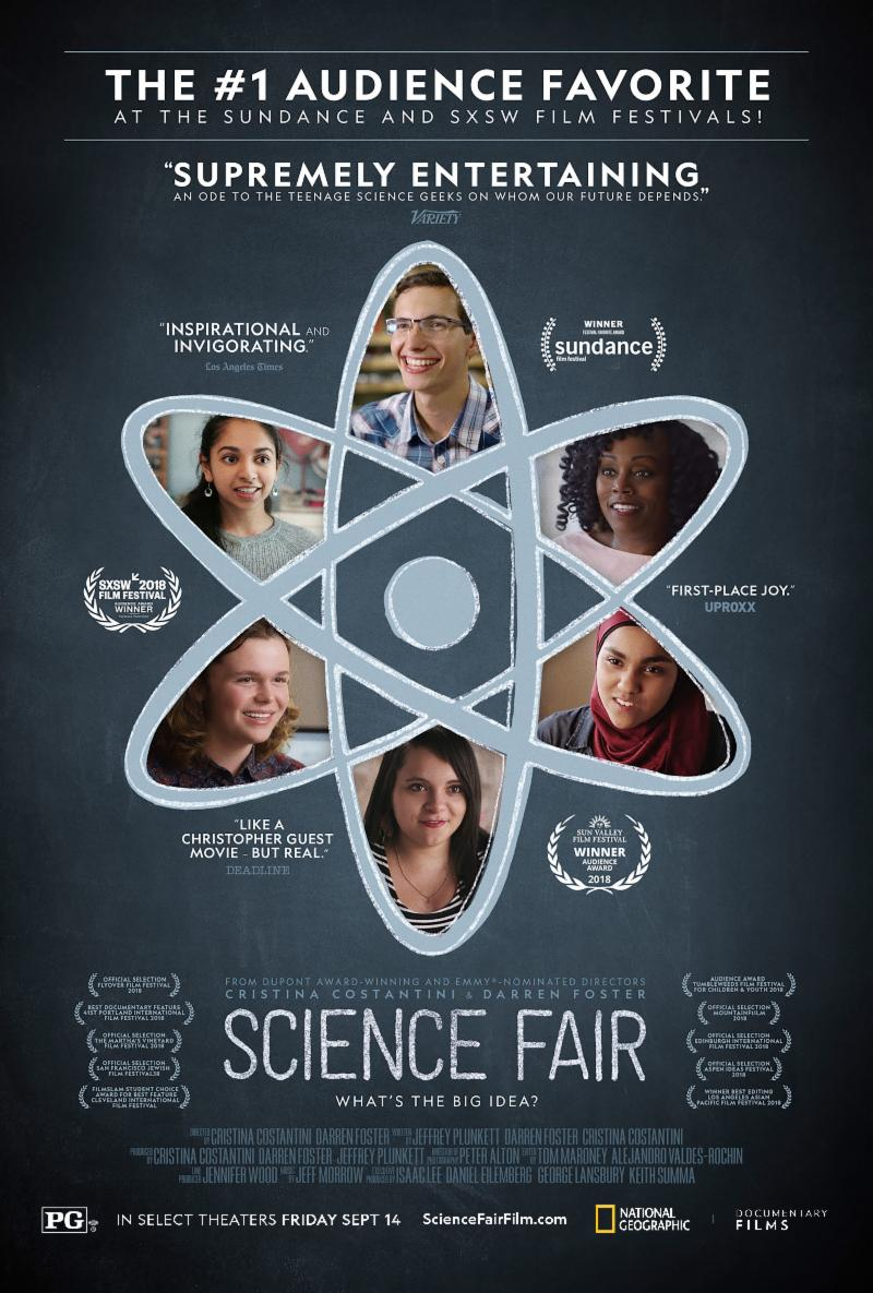 SCIENCE FAIR   Release Poster