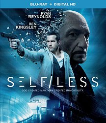 SELF/LESS Blu-ray Cover