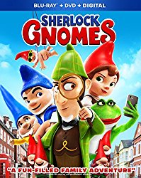 SHERLOCK GNOMES Release Poster