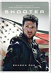 SHOOTER SEASON ONE Blu-ray Cover
